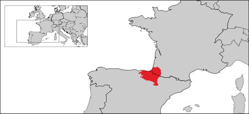 バスク語が話されている地域