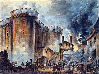 バスティーユ監獄の襲撃