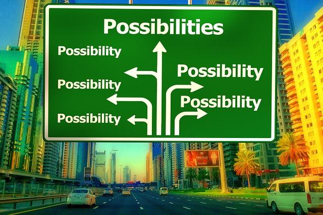 統計分析の際には様々な可能性 (possibility) が存在する。