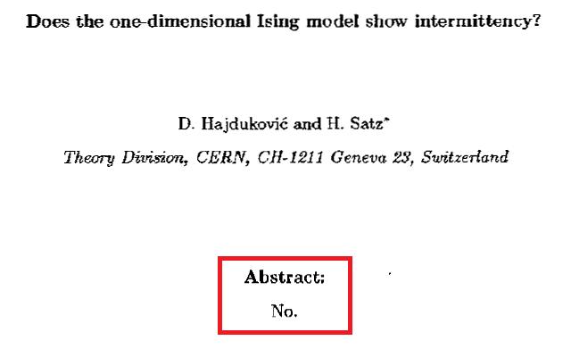 ハジュコビッチとザッツらによる論文の要約文はたったの1語しかない。(要約文を囲っている赤線は引用者が加えたもの)