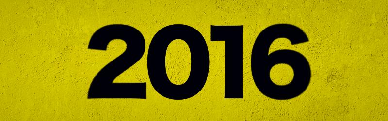 さようなら、2016年