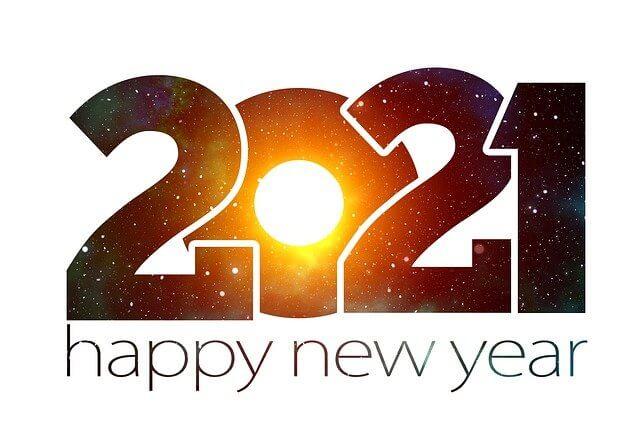2021年が良い年になりますように。